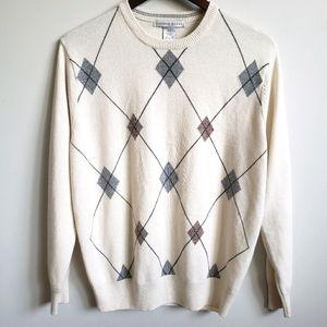 Geoffrey Beene Men's Crew Neck Sweater